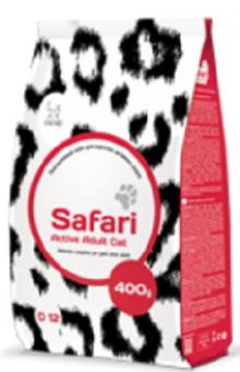 Safari 400гр сухой корм для активных кошек
