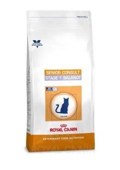 Royal Canin 10кг Senior consult stage1 Сухой корм для котов и кошек старше 7 лет склонных к избыточному весу