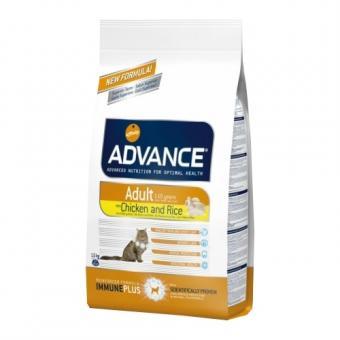 Advance 15кг Adult Cat Chiсken & Rice Сухой корм для кошек от 1 до 10 лет с курицей и рисом.
