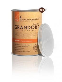 Grandorf 400г Turkey Консервы для взрослых собак, индейка