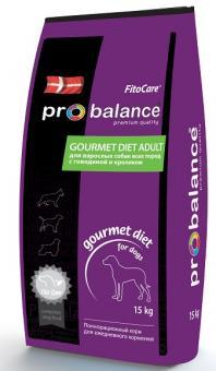 ProBalance 15кг Говядина И Кролик для взрослых собак