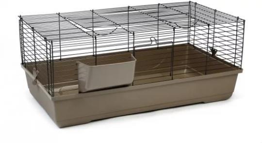 Beeztees 266890 Baldo Клетка д/кролика коричневая 100*53*46см