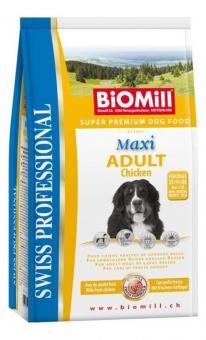 Biomill 12кг Maxi Adult для взрослых собак очень крупных и гигантских пород с индейкой и цыпленком