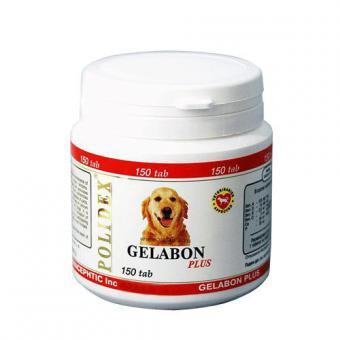 POLIDEX Gelabon Plus 150таб. витаминно-минеральный комплекс для профилактики заболеваний хрящевых поверхностей, предотвращение хрупкости костей
