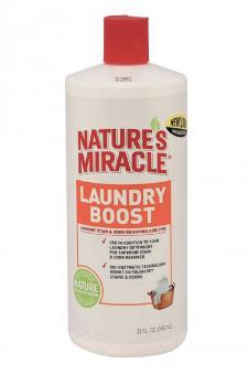 Nature's Miracle 947мл Моющее средство, для уничтожения, пятен, запахов и аллергенов Laundry Boost - Stain & Odor Additive