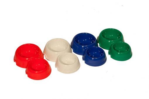 Yami-Yami Двойная круглая миска для кошек пластиковая, 100 и 200 мл