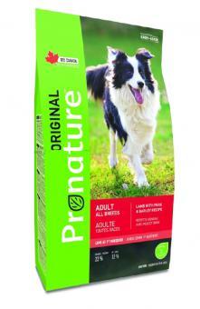 Pronature 11,3кг Original NEW для собак  всех пород, ягненок