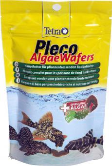 Tetra Pleco Algae Wafers 250 мл - корм для сомов в виде крупных чипсов