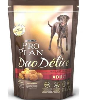 Pro Plan 10кг Duo Delice Для взрослых собак  с говядиной