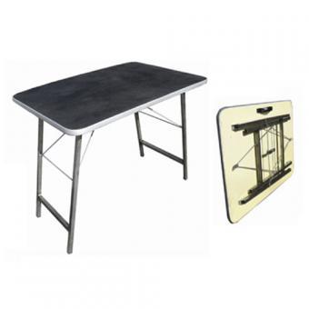Стол  860*605*620мм для груминга складной  покрытие резина  вес 7,5 кг