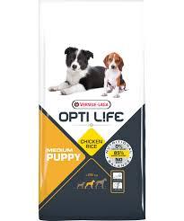 Opti Life Puppy Medium 1кг Для щенков средних пород с курицей