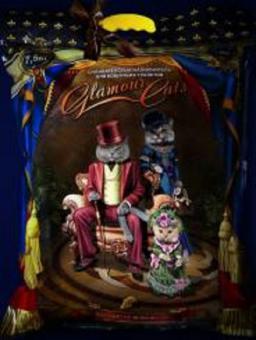 Супер Годовой запас Glamourcats с голубыми кристалами 2шт по 7.5кг или 34литра