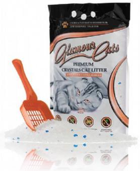 Glamourcats антибактериальный 3,8л(1,7кг) Силикагелевый наполнитель