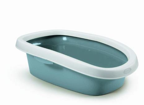 Stefanplast Туалет  31*43*14см Sprint-10 с рамкой, ,синий