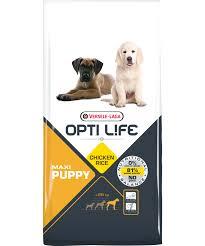 Opti Life Puppy Maxi 12,5кг Сухой корм для щенков крупных пород с курицей