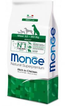 Monge Dog 3 кг Maxi корм для взрослых собак крупных пород