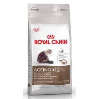 Royal Canin 4кг Ageing +12 Сухой корм для пожилых кошек старше 12 лет