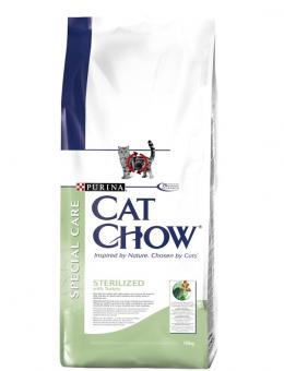 Purina Cat Chow 1,5кг для кошек Спешл Кеа для кастрированных/стерилизованных