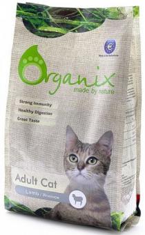 Organix 18кг Adult Cat Lamb Гипоаллергенный корм для кошек с ягненком