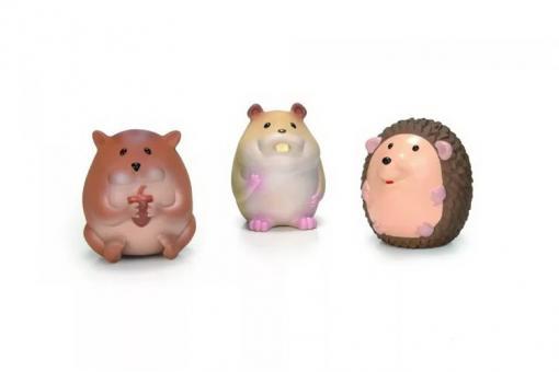 Beeztees Набор игрушек 10см для собак  Лесные Друзья, латекс (шоубокс)