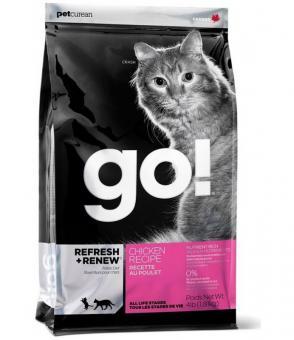 Go Natural 7,26 кг 32/20 Chicken Cat 32/20 беззерновой корм для котят и кошек с цельной курицей, фруктами и овощами