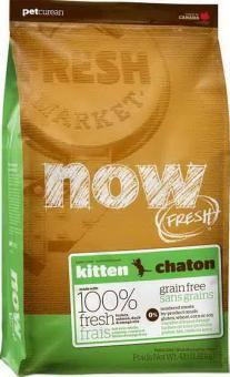 Now Natural 3,63кг Kitten 33/20 Сухой корм беззерновой для котят с индейкой, уткой и овощами