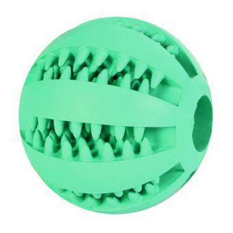 Beeztees  Игрушка для собак 7см Мяч массажный с запахом мяты для ухода за зубами, резина