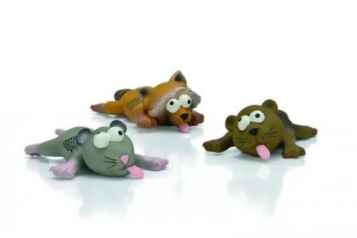 Beeztees Игрушка 22см для собак Животные в Нирване латекс, в ассорт.