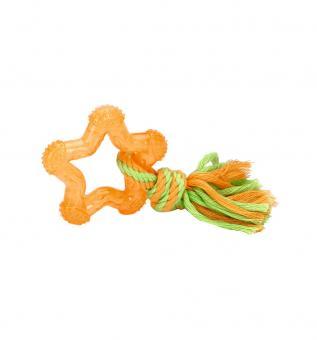 Beeztees Игрушка 8см  для собак Звезда оранжевая, TPR
