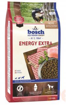 Bosch 1 кг Energy extra Сухой корм для собак с высокой физической нагрузкой