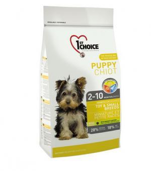 1st Choice 0.35 кг. Puppy mini Сухой корм для щенков миниатюрных и мелких пород курица