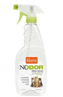 Hartz Средство,503 мл уничтожающее запахи в кошачьих туалетах (без ароматизатора),