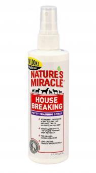 Nature's Miracle 237 мл. Средство для приучения к туалету для собак NM House-Breaking Spray