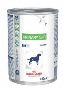 Royal Canin 410 г. Консервы Urinary S/O Диета для собак при мочекаменной болезни