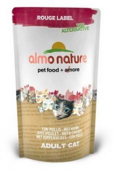 Almo Nature Rouge 0,75кг  label The Alternative with Chicken 862 100% Fresh Для Кошек с Курицей