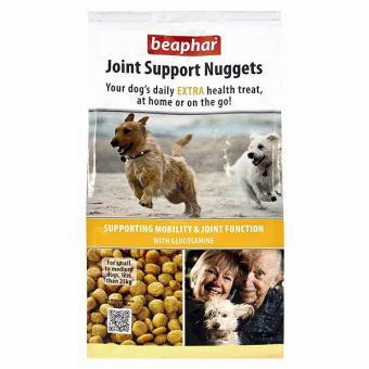Beaphar Joint Support Nuggets 300г Лакомство для собак для здоровья суставов