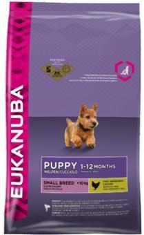Eukanuba 10 кг. Puppy junior small Сухой корм для щенков мелких пород