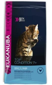 Eukanuba 2кг Cat Senior Mature Care Для пожилых кошек от 7 лет