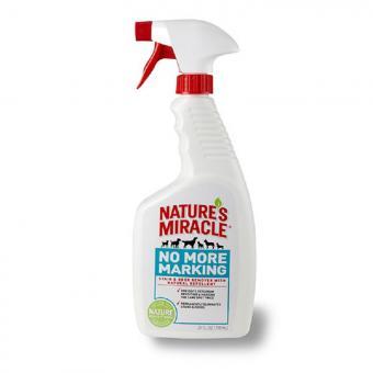 Nature's Miracle 709 мл Средство для уничтожения пятен и запахов не позволяющее животным вновь испачкать обработанную поверхность