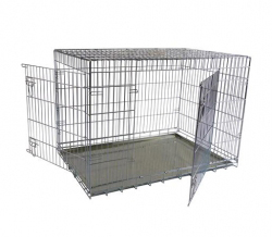 Papillon Wire cage 2 doors 150207 Клетка металлическая с 2 дверками, 107*68*75см