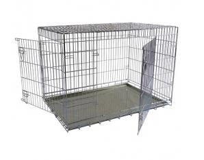 Papillon Wire cage 2 doors 150218  Клетка металлическая с 2 дверками, 118*78*85с