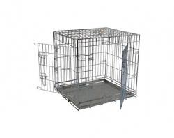 Papillon Wire cage 2 doors 150276 Клетка металлическая с 2 дверками, 76*54*61см