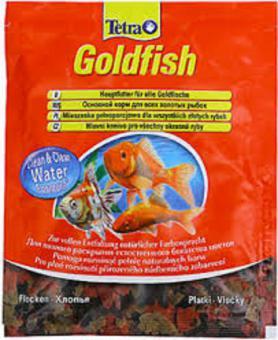 Tetra Goldfish  12г корм для золотых рыбок в чипсах