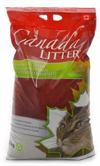 CanadaLitter 18 кг Комкующийся наполнитель Контроль запаха (Dust Free)Без запаха