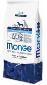 Monge Dog 3 кг  Medium корм для щенков средних  пород