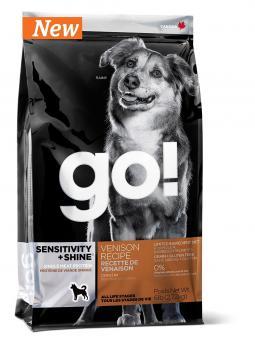 Go Natural 2,72 кг Sensitivity Venison 22/12 беззерновой корм для собак с олениной для чувствительного пищеварения