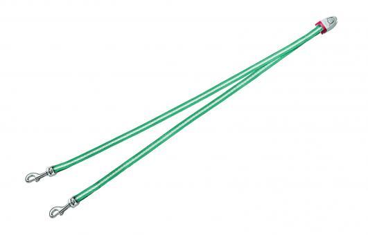 Flexi Vario Duo Belt - сворка для 2х собак для Flexi Vario (Бирюзовая)
