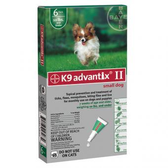 Bayer Advantix GOLD 40 С для собак до 4кг. 4 пипетки / 0,4 мл.