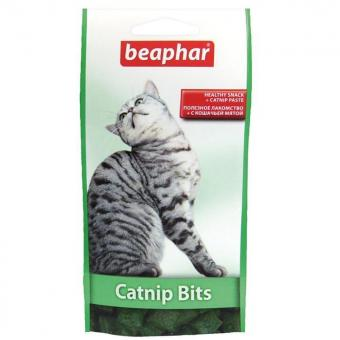Beaphar Catnip Bits 35г Подушечки с кошачьей мятой