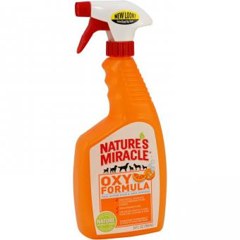 Nature's Miracle Универсальный уничтожитель пятен и запахов « Оранж-Окси» NM S&O Rem or Oxy, Trig Spray